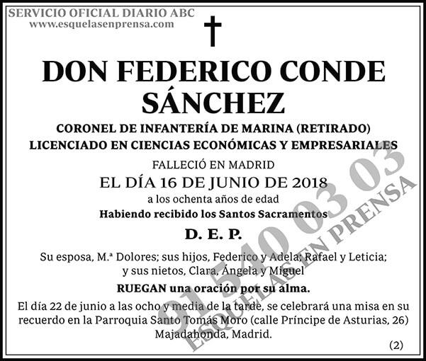 Federico Conde Sánchez